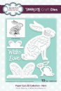 Creative Expressions Paper Cuts 3D Collection Hare Craft Die
